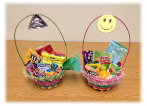 Making easter baskets that are healthy fun live your life healthy easter baskets negle Image collections