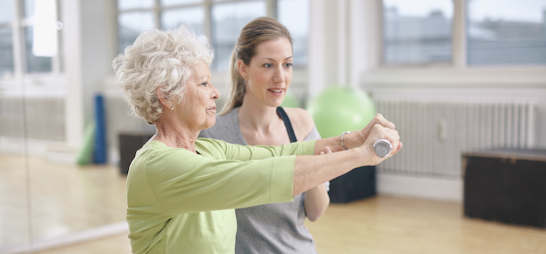 wegith training, Osteoporosis, Live Your Life Physical Therapy